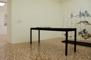 attics, installation view