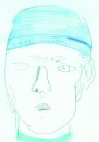 gazes I have seen, 29.7 x 21 cm, pastels on paper, 2021